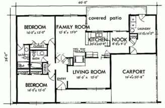 Exciting House Interior Spaces Two Bedroom Plans Floor Plan