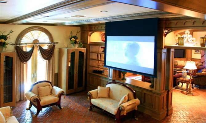 Exclusive High End Classic Home Theater Designs Entertainment