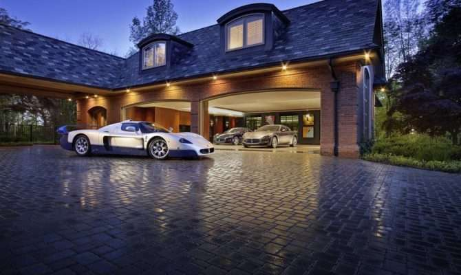 Expensive Cars Only Look Good Mind Blowing Garages Luxury