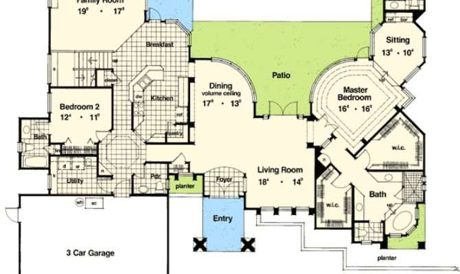 Exquisite Frank Lloyd Wright Style House Plan