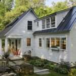 Exterior Designs Dark Blue Traditional Home Roof Design Aesthetic