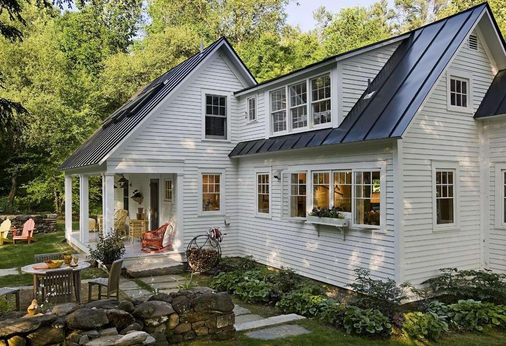 Exterior Designs Dark Blue Traditional Home Roof Design Aesthetic