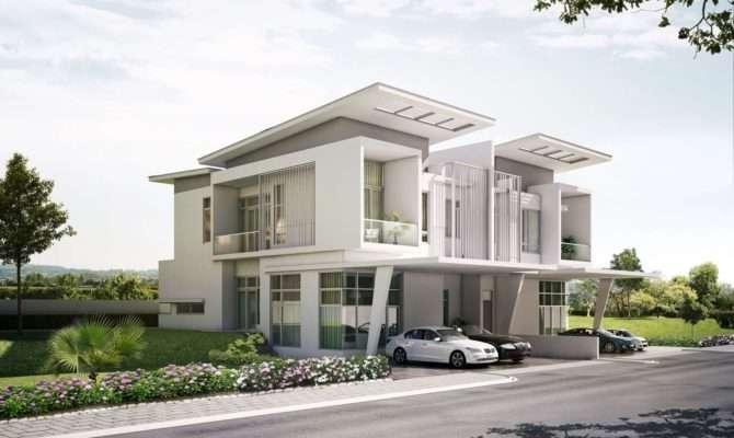 Exterior Home Designs Special Facade Appearance