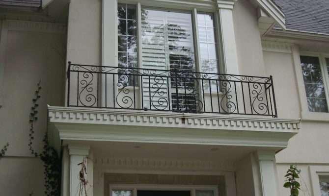 Exterior Iron Railing Wrought Balcony Railings Designs