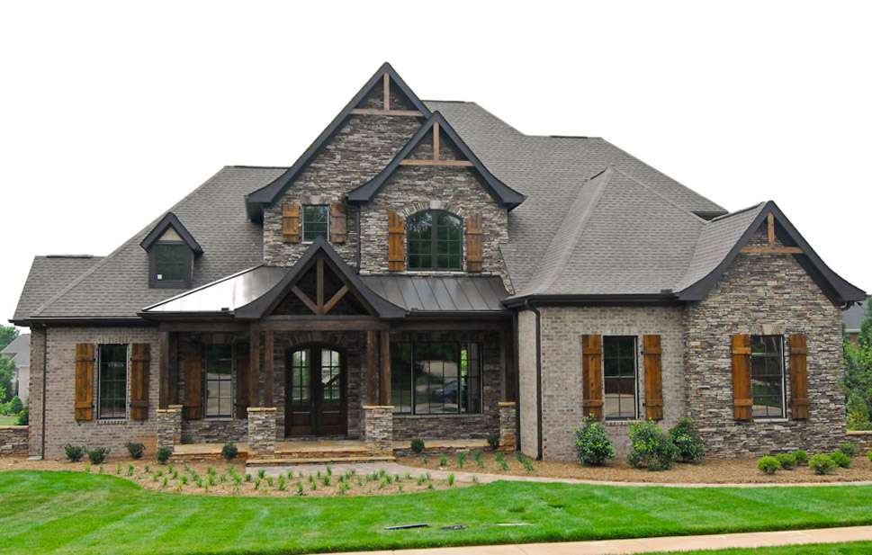 Exterior Milestone Custom Homes