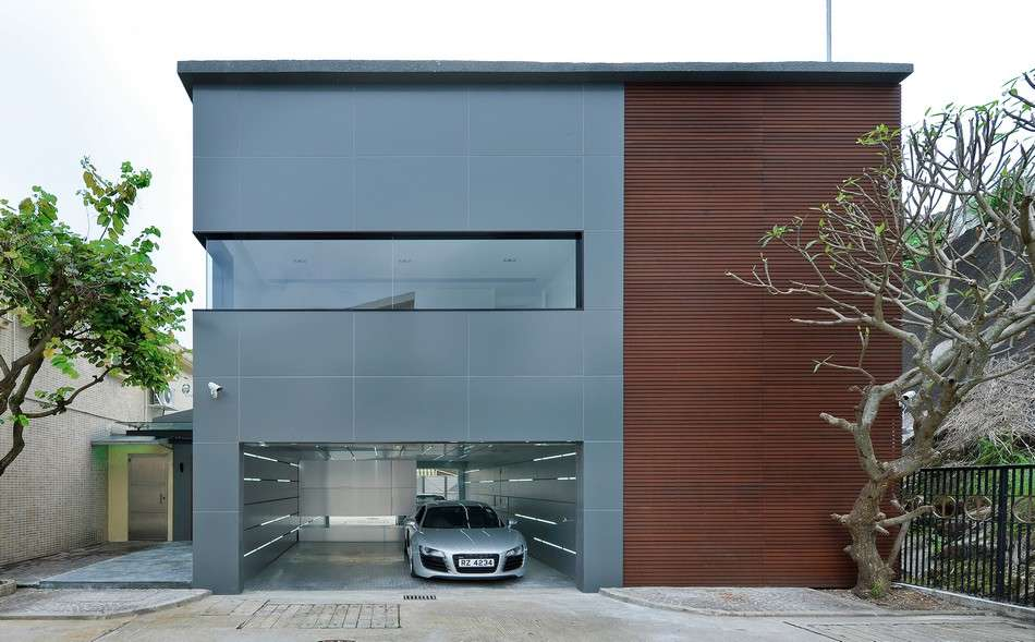 Exterior Modern House Project