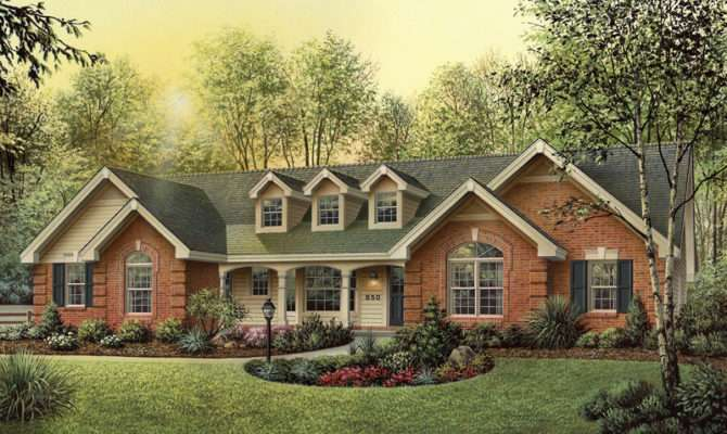 Exterior Ranch House Designs Classic Traditional