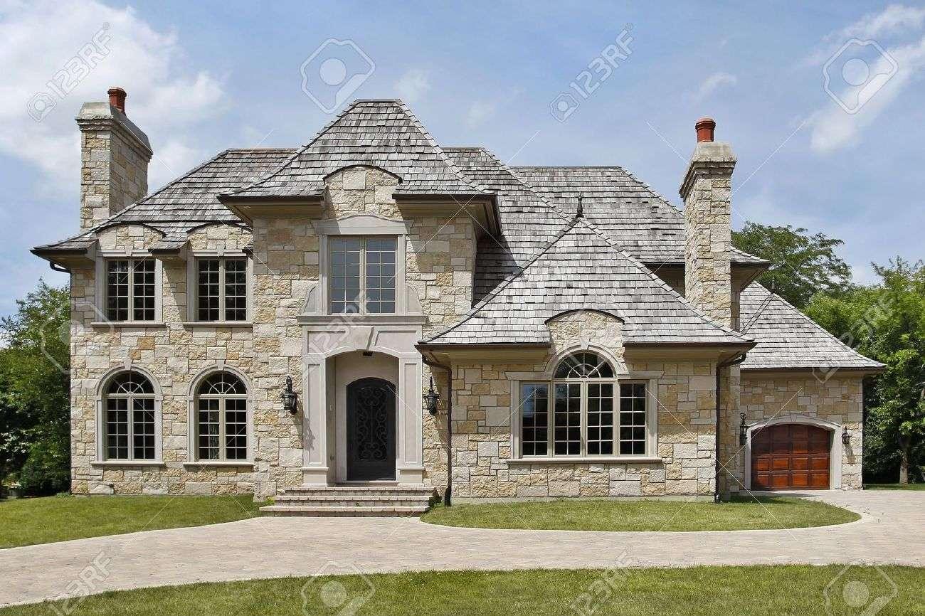 Exterior Stone House Homes