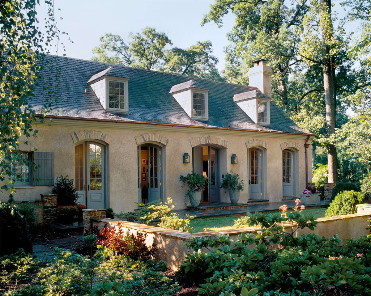 Eye Catching Home Small French Country House Plans Style