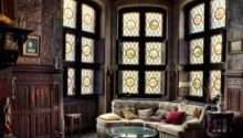 Eye Design Decorating Gothic Revival Style