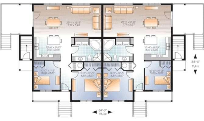 Fab Plex House Plan Floor Master Suite