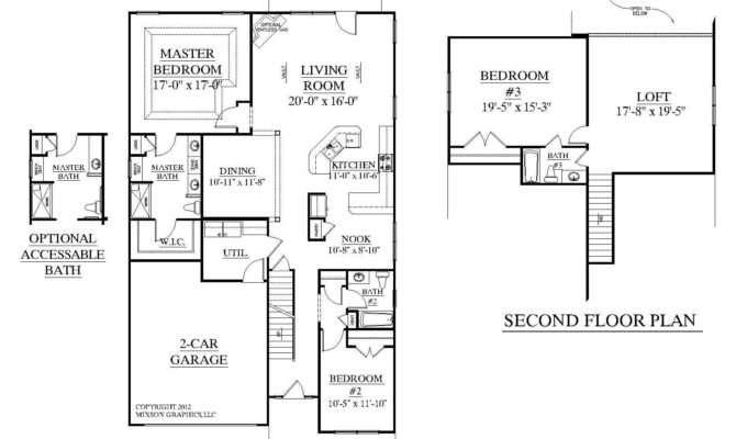 Fabulous Bedroom House Plans Master Suites