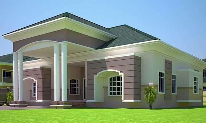 Fabulous Bedroom Modern House Design Including Plans