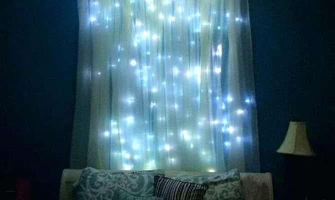 Fairy Light Bed Canopy Bedroom Decor Lights