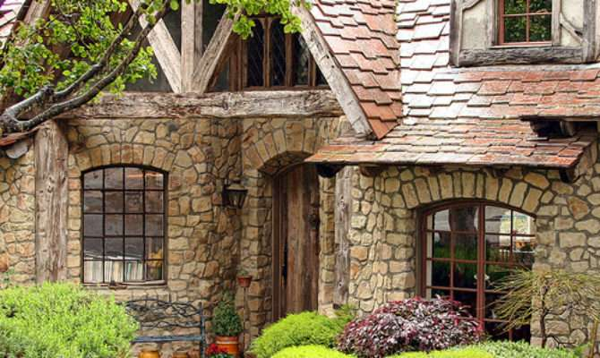 Fairytale Cottages Carmel Stone House Built
