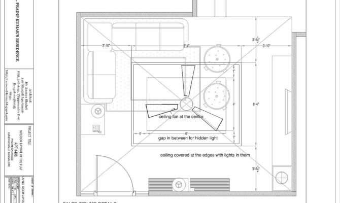 False Ceiling Plan Sense Home Blogspot