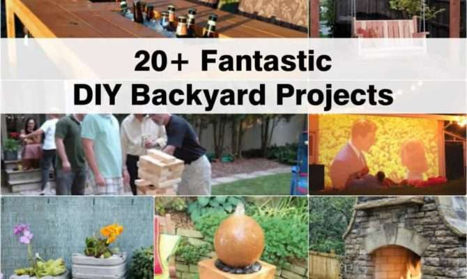 Fantastic Diy Backyard Projects