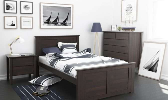 Fantastic King Single Bed Hardwood Furniture
