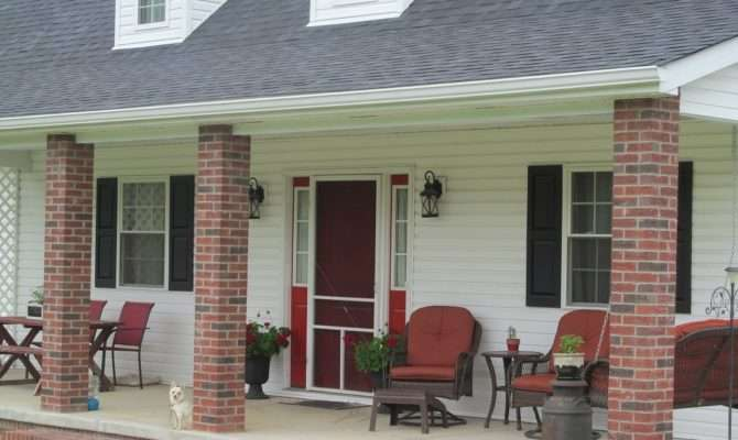 Farm Farmhouse Porch