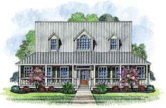 Farm House Acadian Plans Cottage Home