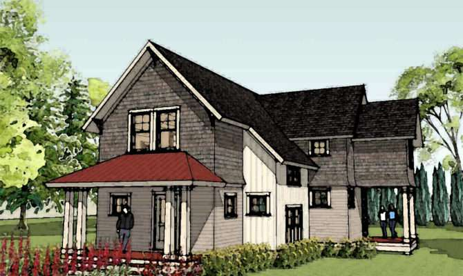 Farmhouse Plans Country House Home Designs New
