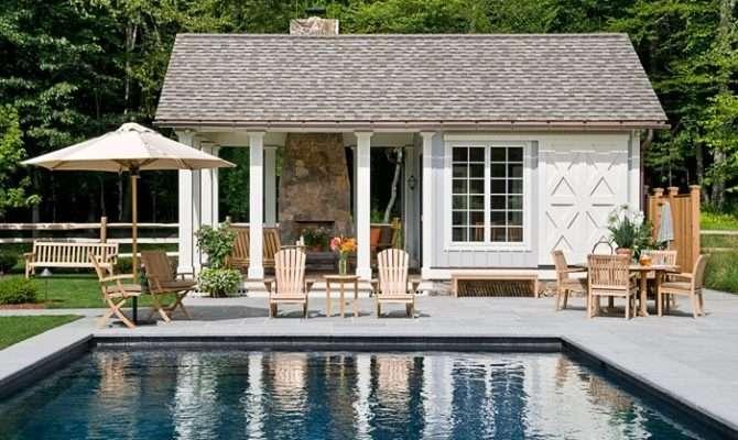 Farmhouse Plans Pool House