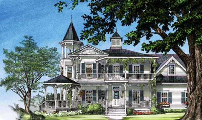 Farmhouse Southern Victorian House Plan
