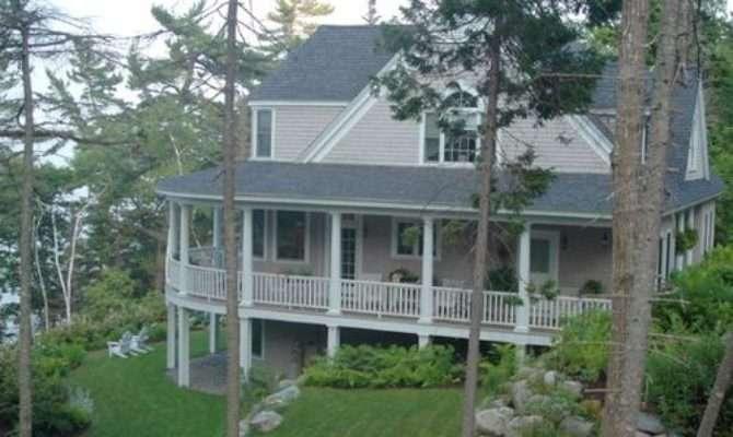Farmhouse Wrap Around Porch Houzz