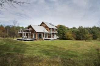 Farmstead Passive House Vermont Modern New England