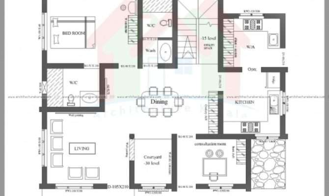 Fascinating Bedroom House Plans Photos Kerala