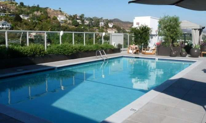 Fascinating Rooftop Swimming Pool Design House Garden Idea
