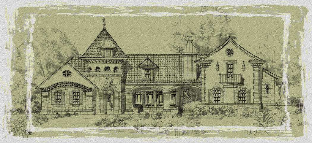 Featured Luxury Home Plans Homes Blueprints Mediterranean Style