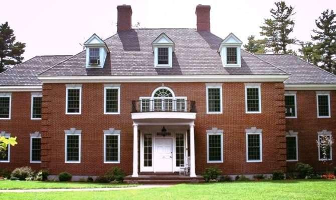 Federal Colonial Exterior Trim Siding