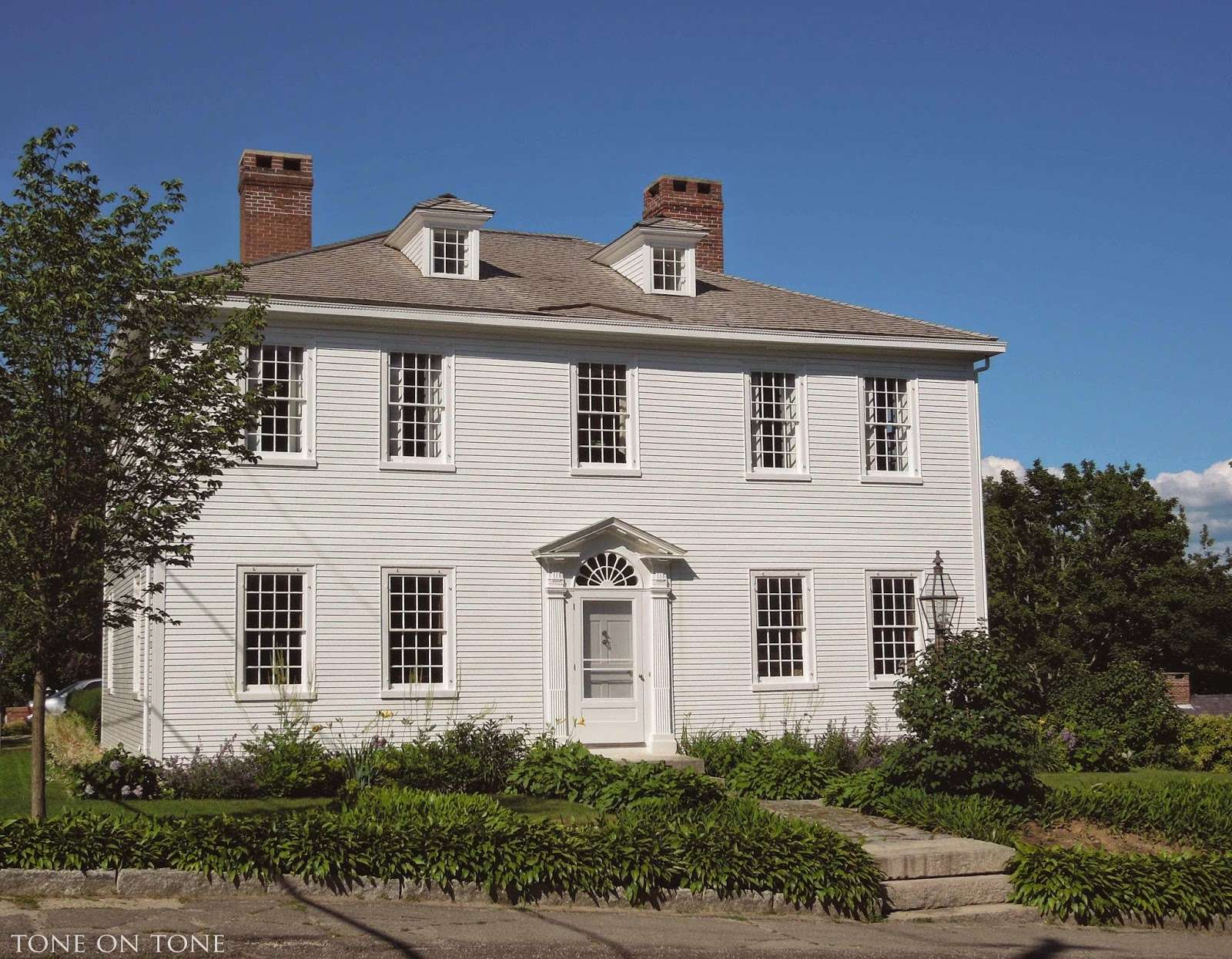 Federal Greek Revival Style Homes Still Grace Its Streets