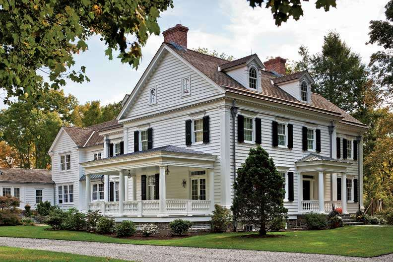 Federal Style Farmhouse Love Pinterest Home Plans