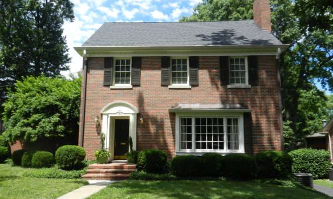 Federal Style House Brick Beautiful Home