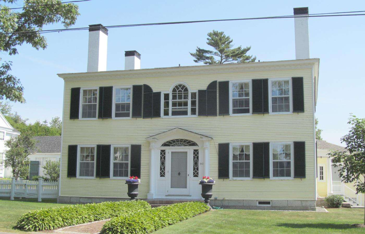 Federal Style House Penobscot Bay Press