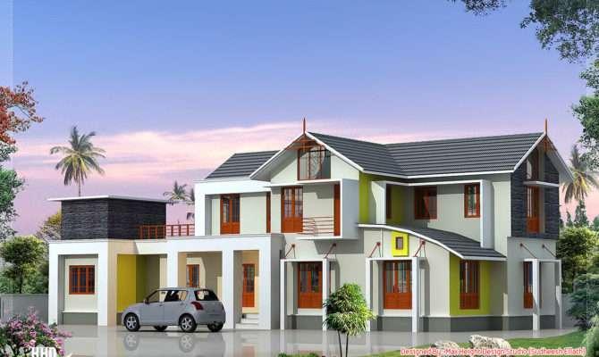Feet Bedroom House Elevation Kerala Design