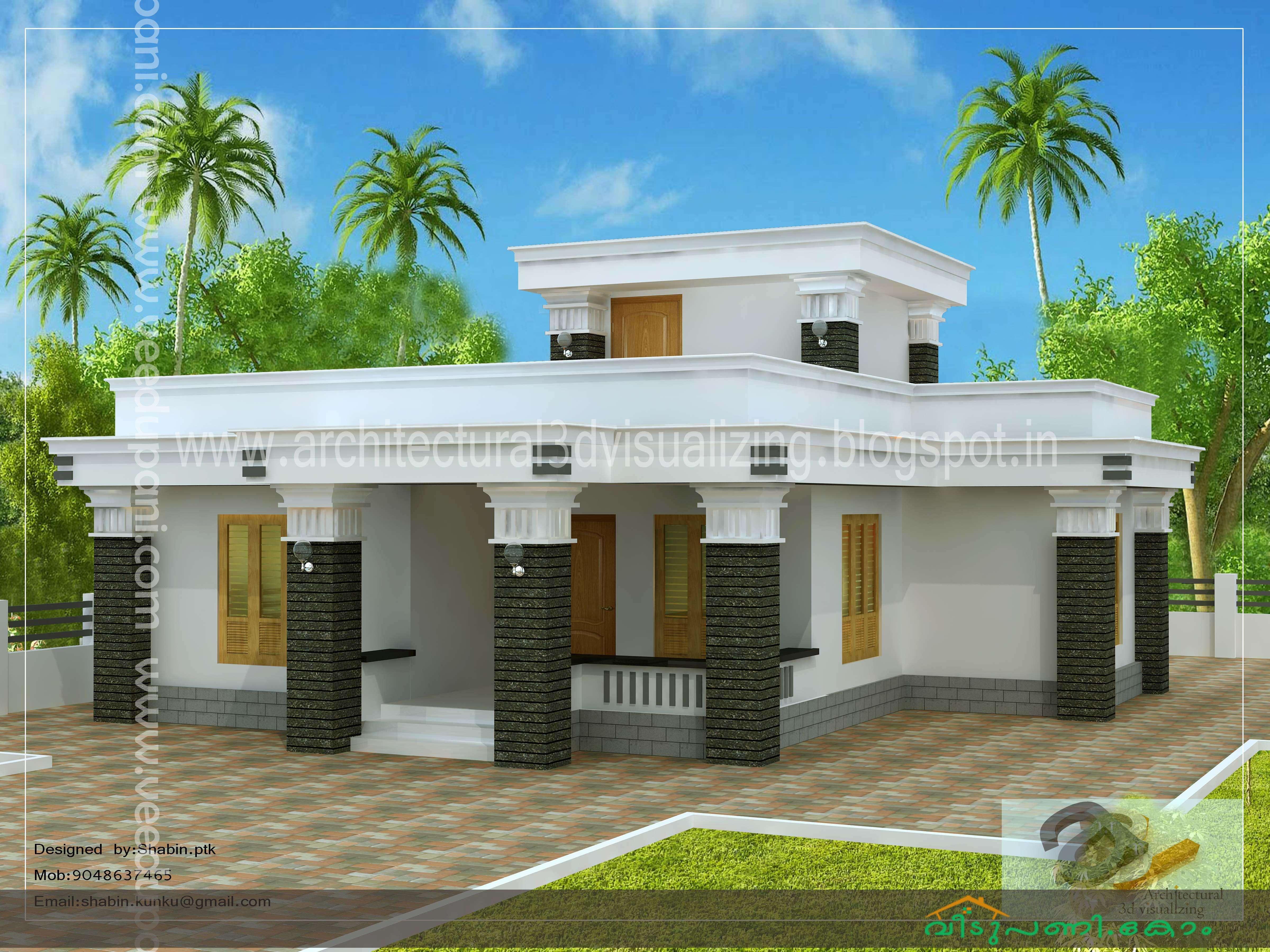 Feet bedroom kerala single floor house design budget plans