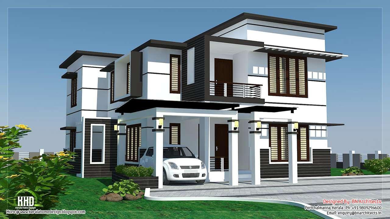 Feet Bedroom Modern Home Design House Plans