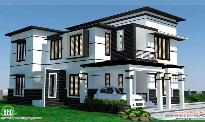 Feet Bedroom Modern Home Design Kerala House