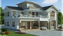 Feet Bedroom Villa Design Kerala Home Floor Plans