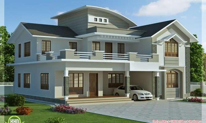Feet Bedroom Villa Design Kerala Home