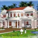 Feet Big House Elevation Kerala Home Design Floor Plans