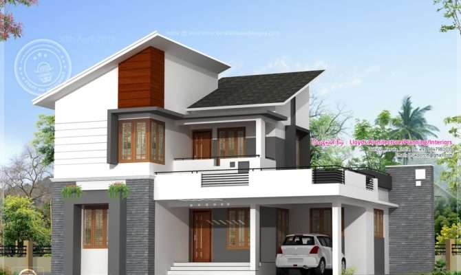Feet Floor Plan Elevation Kerala Home