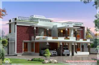 Feet Modern Unique Villa Design Architecture House Plans