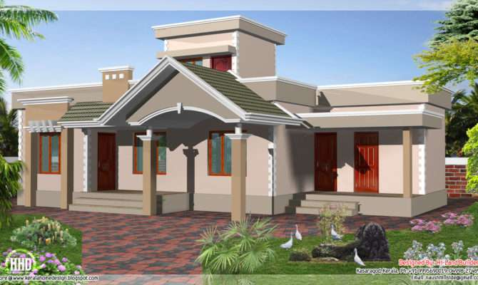 Feet One Floor Budget House Kerala Home Design Plans