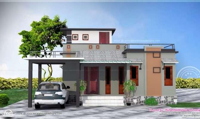 Feet Small Budget House Kerala Home Design