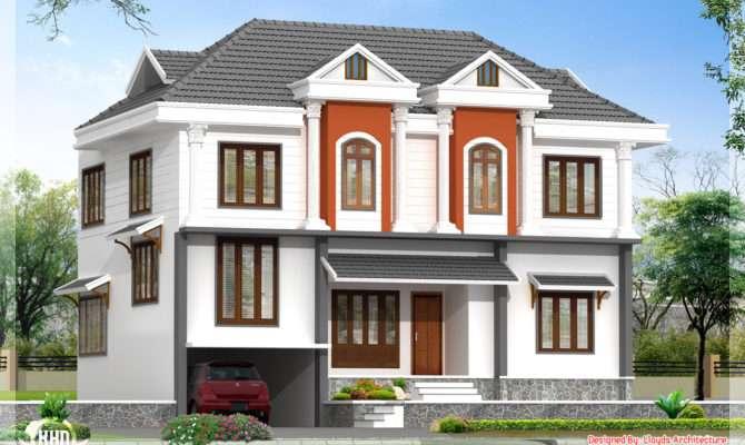 Feet Villa Floor Plan Kerala Home