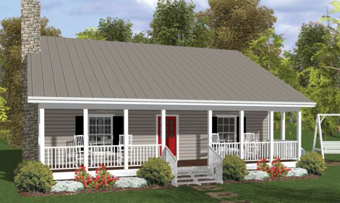 Fernberry Country Cabin Home Plan House Plans More